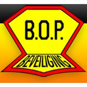 B.O.P. Beveiliging logo