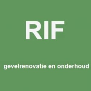 RIF Gevelrenovatie en Onderhoud logo
