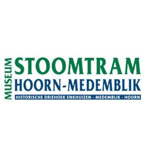 Museumstoomtram Hoorn-Medemblik logo