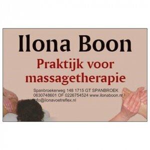 Ilona Boon Massagetherapie logo