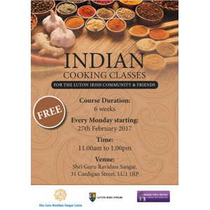 Indian Cooking Classes logo