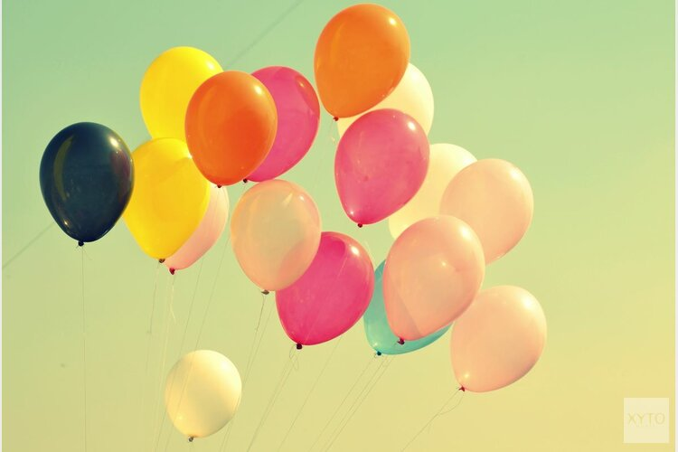 Ballonnen; houd ze aan de grond!