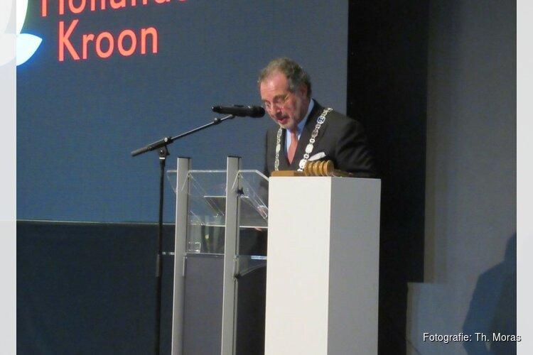 Burgemeester Jaap Nawijn neemt afscheid van Hollands Kroon
