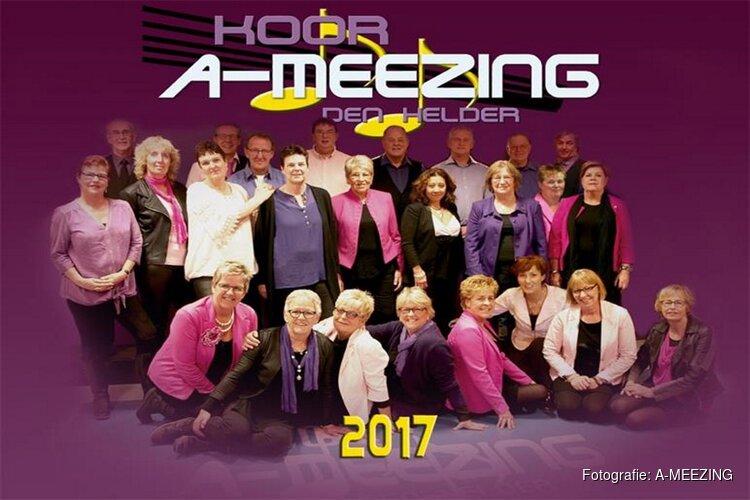 """Zondag 24 februari zingt in de Keesschuur het Helderse koor """"A-MEEZING"""