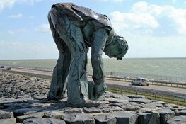 Woede bij Monument om sluiting fietspad Afsluitdijk: 'Daar gaat mijn omzet'