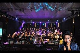 Muziekvereniging Wieringerwaard komt met Leona Philippo een feestje vieren in Heerhugowaard
