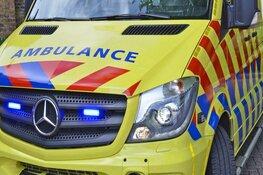 Hulpdiensten massaal aanwezig bij ongeluk op boerderij in Wieringerwerf