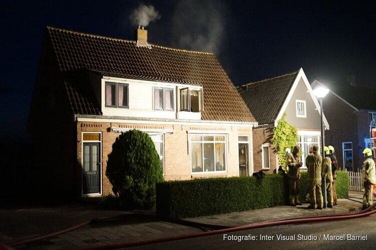 Uitgebrande woning in Breezand stond net te koop