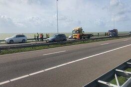 File na botsing op Afsluitdijk