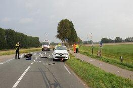 Scooterrijder zwaargewond in Middenmeer
