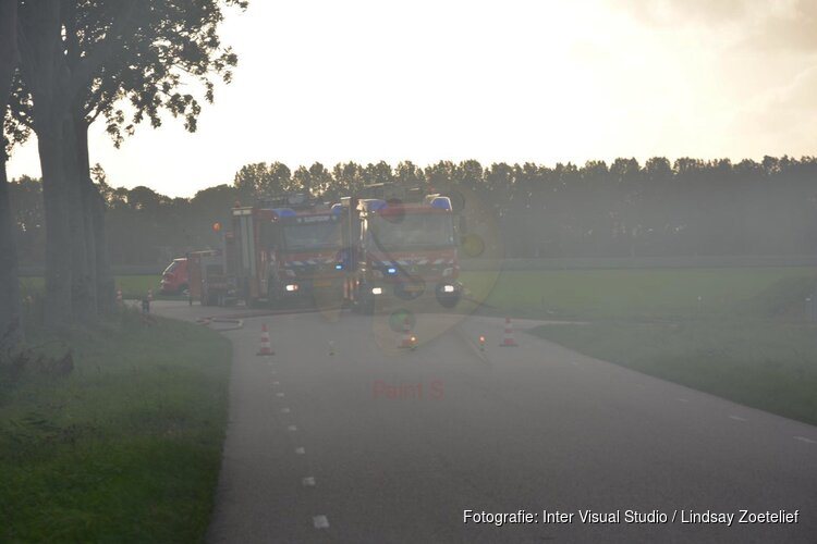 Buitenbrand in Wieringerwerf