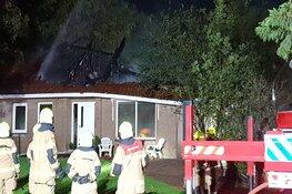 Stolpboerderij verloren gegaan bij brand in Wieringerwaard