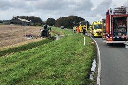 Twee gewonden bij ongeval Slootdorp