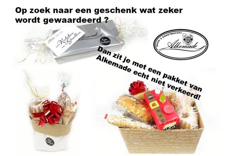 Ook met de feestdagen kunt u terecht bij Bakkerij Alkemade