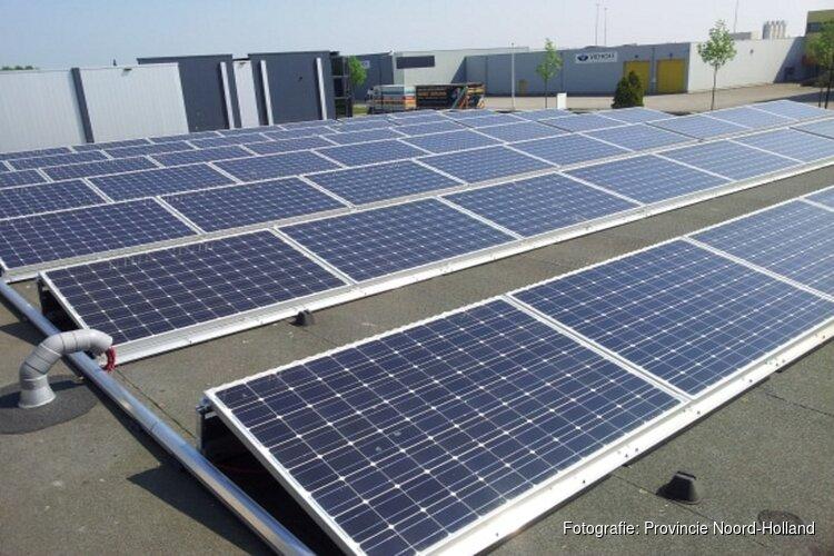 Provincie helpt bedrijven met zonnepanelen