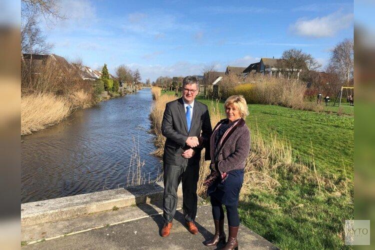 Hollands Kroon draagt onderhoud sloten over aan hoogheemraadschap