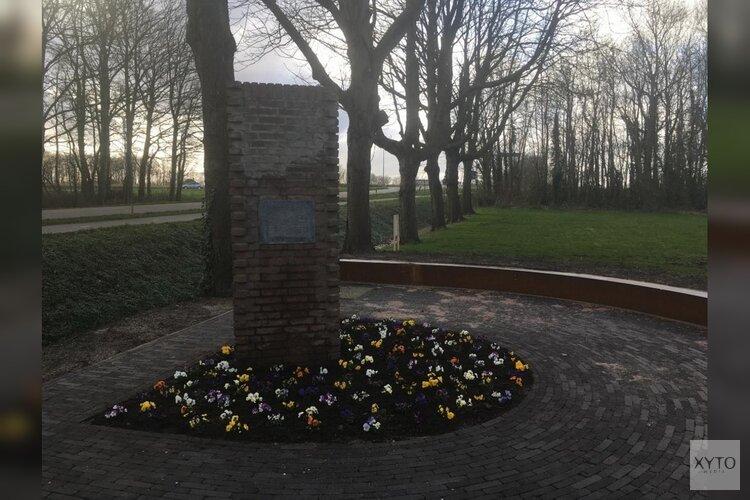 Laatste steenlegging monument Joods Werkdorp