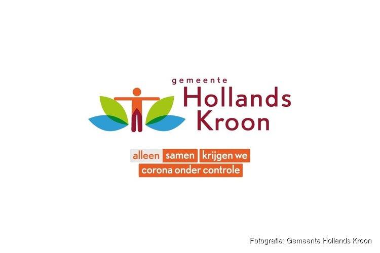 Hollands Kroon voert tijdelijk 'coronalogo'