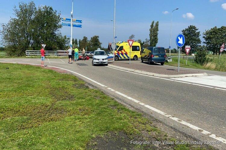 Motorrijder gewond bij ongeval Breezand