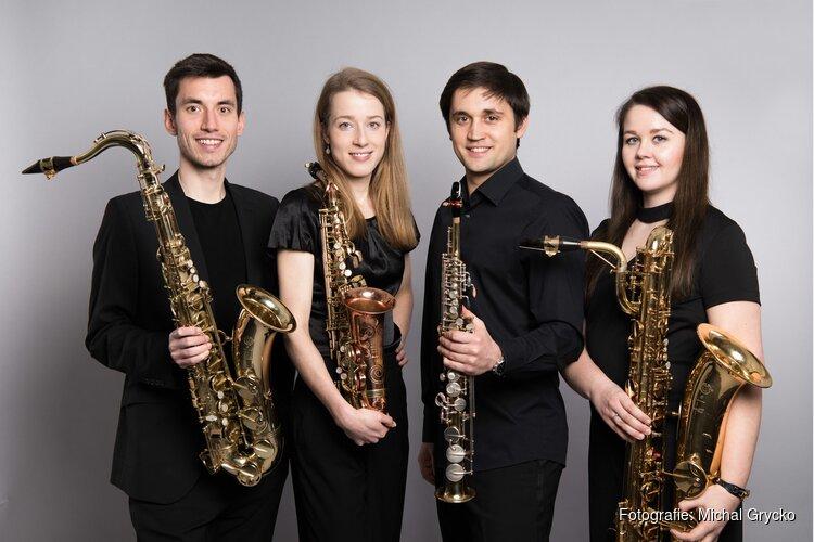 Ebonit saxofoonkwartet in Hippolytushoef