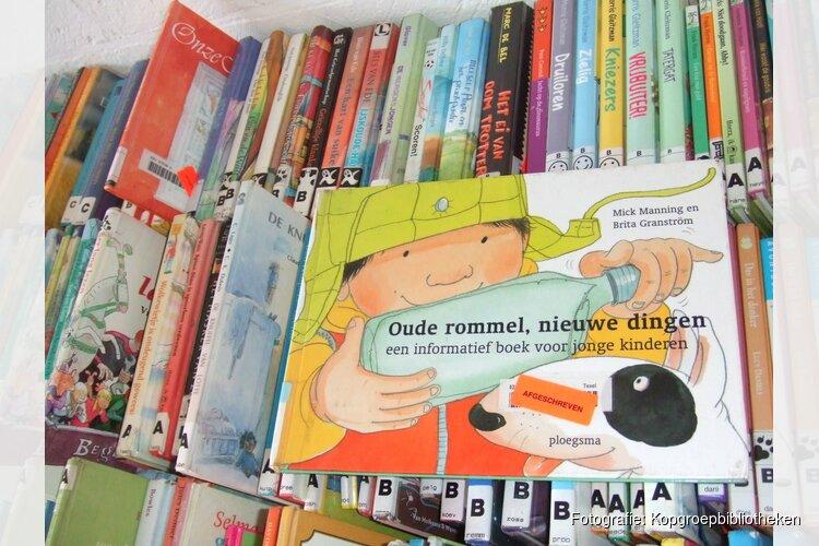 Boekverkoop in jeugdbieb Middenmeer
