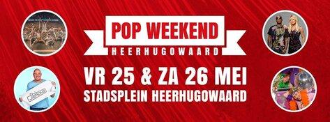 Popweekend Heerhugowaard: Groot feest op Stadsplein met o.a. Dirty Daddies en 2 Brothers on the 4th Floor