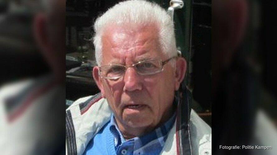 Politie vraagt opnieuw aandacht voor vermiste man (81) uit Kampen