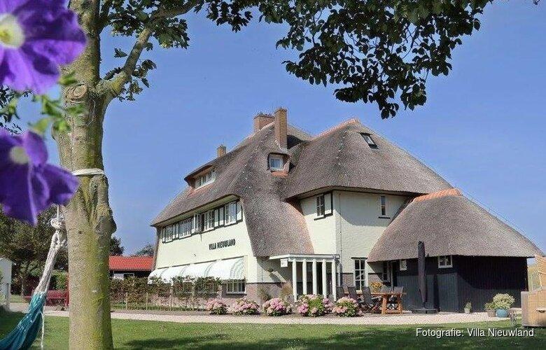 Genomineerd: Wieringer Villa Nieuwland beste B&B van Nederland
