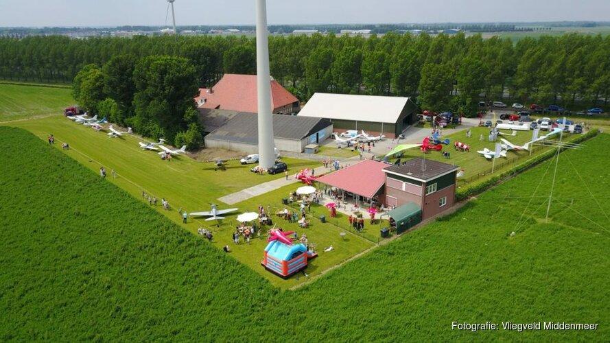 Zaterdag Open dag Fly-in bij vliegveld Middenmeer
