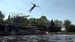 """Zwembad Wieringerwaard profiteert optimaal van warme weer: """"Super begin van seizoen"""""""