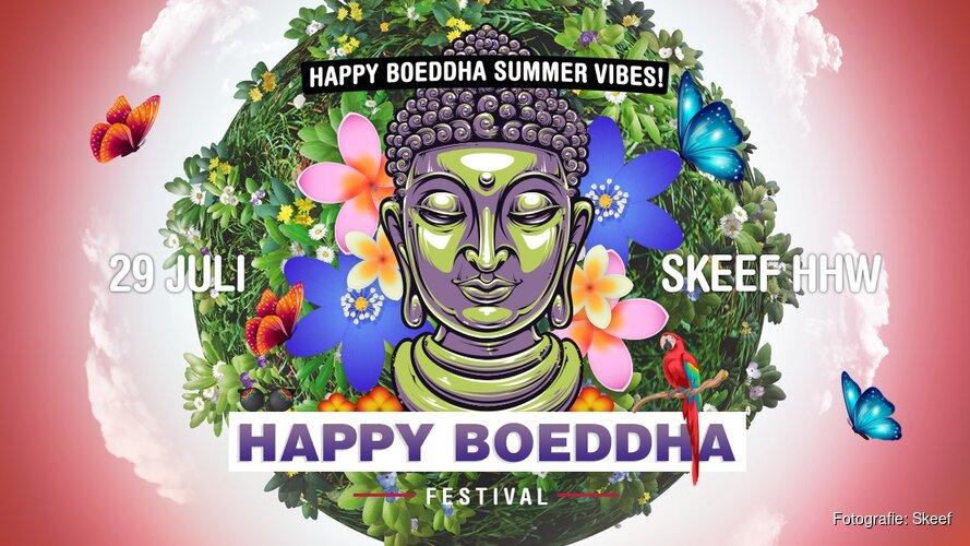 """Zondag 29 juli Happy Boeddha bij """"Skeef in Heerhugowaard"""""""