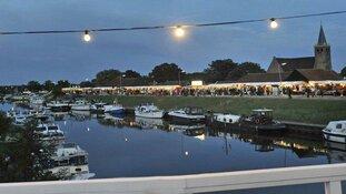 Nachtmarkt in Kolhorn 29 juni