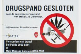 Woning Middenmeer gesloten in verband met drugsvondst