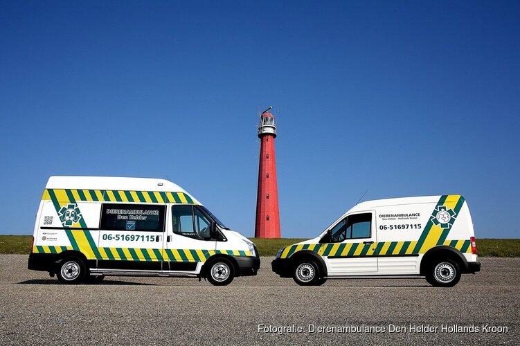 Sponsorloop voor nieuwe dierenambulance Den Helder-Hollands Kroon
