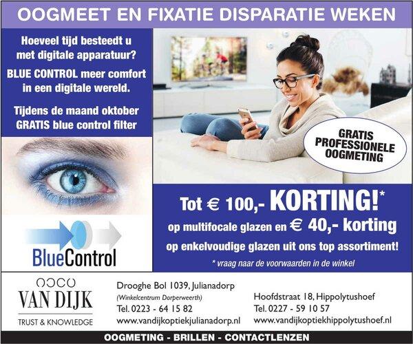 Oogmeet en fixatie disparatie weken bij Van Dijk Opticiëns