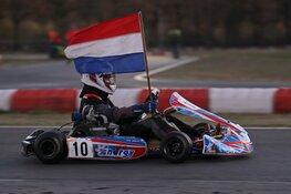 Karter Mike Geel geniet van spannende apotheose seizoen: toch nog de Nederlandse titel!