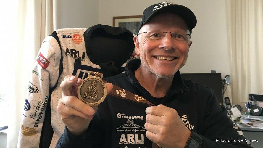"""Dakar-rijder Jimmink vindt overgang naar Hollandse klei groot: """"Ik droom alleen van de woestijn"""""""