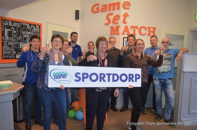 Wieringermeer is nu officieel Sportdorp